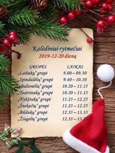 2019 Kalėdiniai rytmečiai